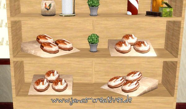Sims 3 bread, objects
