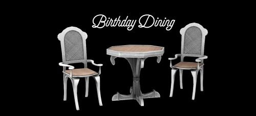 Sims 3 living, dining, furniture, set