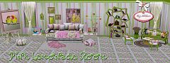 Sims 3 decor, set, objects