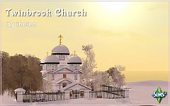 Sims 3 chuch, lot, community
