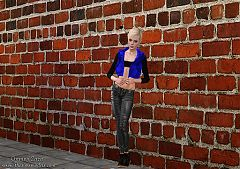 Sims 3 patterns, walls