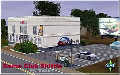 Sims 3 club, community, lot