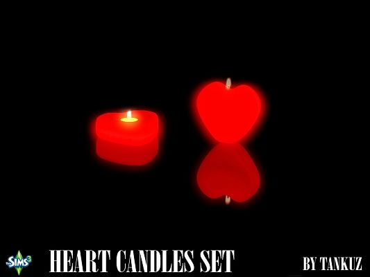 Sims 3 candles, light