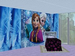 Sims 3 wall, wallpaper