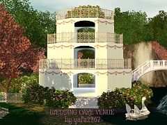 Sims 3 venue, lot, wedding
