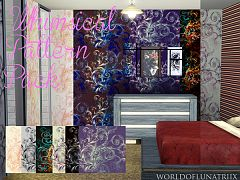 Sims 3 patterns, textures