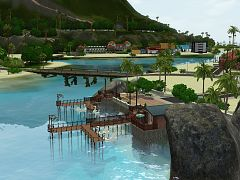 Sims 3 world, neighbourhood