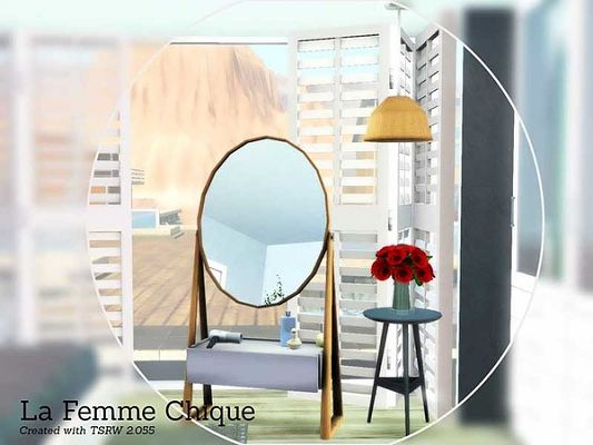 Sims 3 mirror, decor, objects