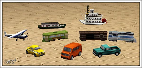 Sims 3 toy, objects, conversion