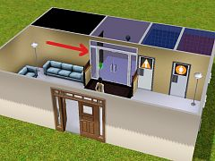 Sims 3 doors, rabbit hole
