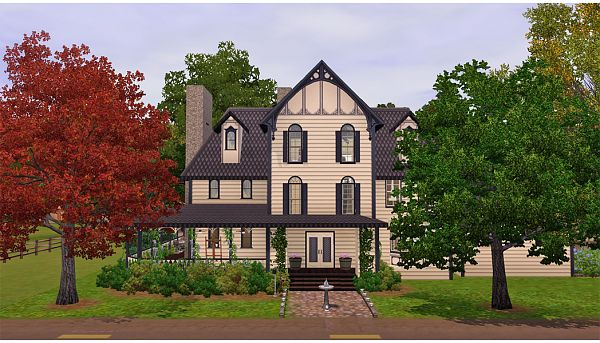 Sims 3 house, lot, residential