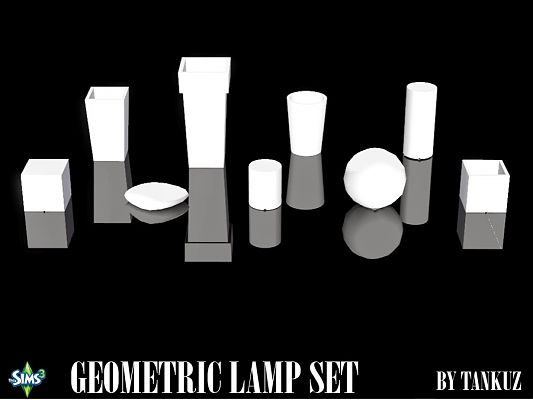 Sims 3 lamp, lights