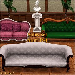 Sims 3 sofa, furnitute
