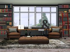 Sims 3 lirary, bookcase, objects, decor
