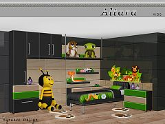 Sims 3 kidsroom, bedroom, furniture