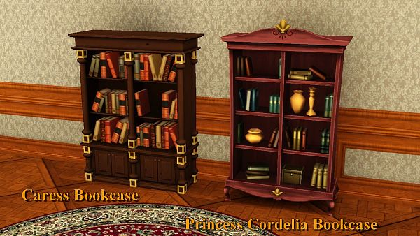 Sims 3 Bookshelve, furniture