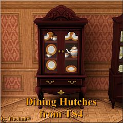 Sims 3 dining hutches