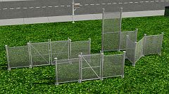 Sims 3 fence, build