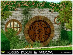 Sims 3 doors, build, windows