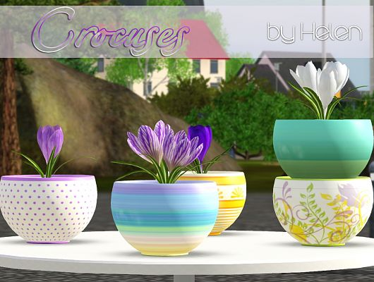 Sims 3 plants, flowers, decor