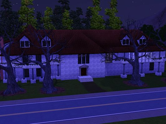 Sims 3 tomb, lot, mansion