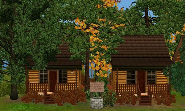 Sims 3 camp, lot