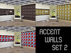 Sims 3 patterns, textures, wall