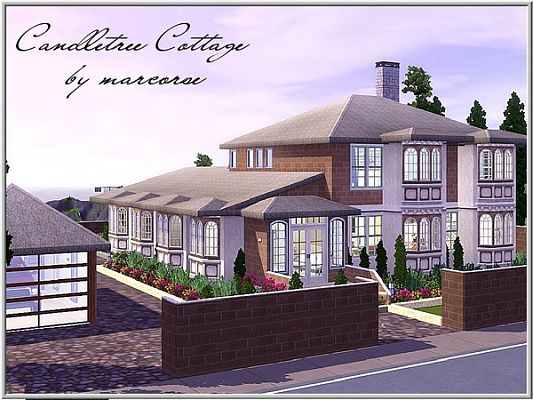 Sims 3 cottage, house