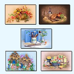 Sims 3 paintings, decor, frame