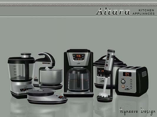 Sims 3 coffee maker, objects, appliances, food processor