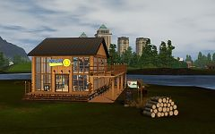 Sims 3 tavern, lot, community