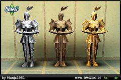 Sims 3 armor, objects