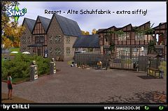 Sims 3 resort, hotel, lot