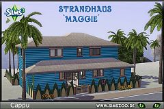 Sims 3 strand, lot