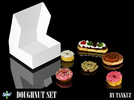 Sims 3 doughnut, objects