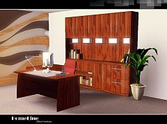 Sims 3 study, office, furniture