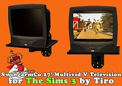Sims 3 tv, electronics, object