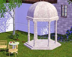 Sims 3 outdoor, objects, shrine, decor