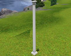 Sims 3 decorative, story, colonial, column, build
