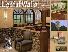 Sims 3 walls, objects, build, construction