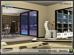 Sims 3 arch, set, build, arhitecture