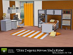 Sims 3 bedroom, furniture, objects, set