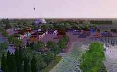 Sims 3 world, lot, plot, residential, community, commercial, neighbourhood