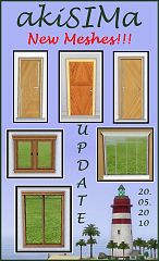 Sims 3 windows, doors, build