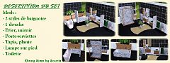 Sims 3 bathroom, objects, furniture