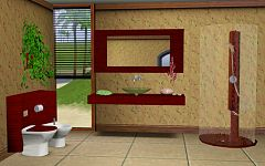 Sims 3 bathroom, furniture, objects