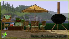 Sims 3 outdoor, diningroom, objects, furniture
