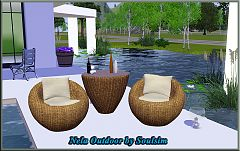 Sims 3 garden, outdoor, furniture, objects