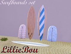 Sims 3 surf, surfboards, objects