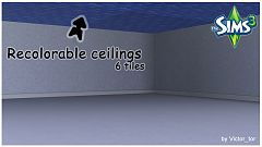Sims 3 ceiling, decor